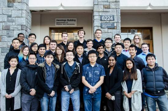 The UBC Orbit team of 2015